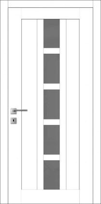 Двери Мюнхен T-20 белая эмаль