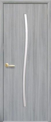 Двери Гармония ясень патина