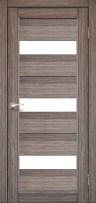 Двери Korfad PR-11 дуб грей со стеклом