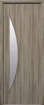 Двери Луна Новый Стиль сандал со стеклом сатин
