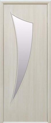 Двери Парус Новый Стиль жемчужный дуб со стеклом сатин