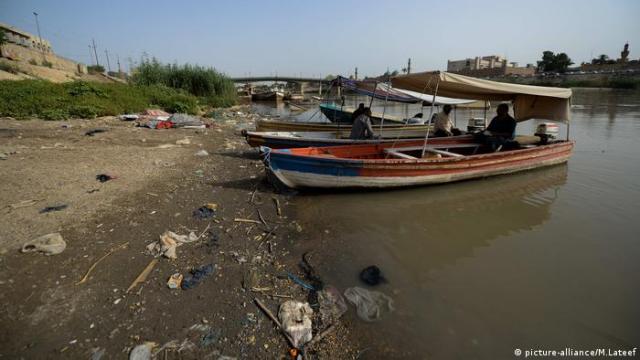 Irak, Wasserknappheit und Dürre (picture-alliance/M.Lateef)