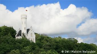 Insel Rügen, Reisereportage, Deutschland entdecken. Copyright: DW / Maksim Nelioubin.Das Schloss von Lietzow (Schlösschen Lichtenstein).