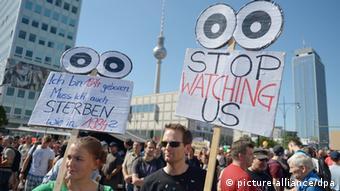 Prosvjedi u Berlinu za zaštitu građanskih prava