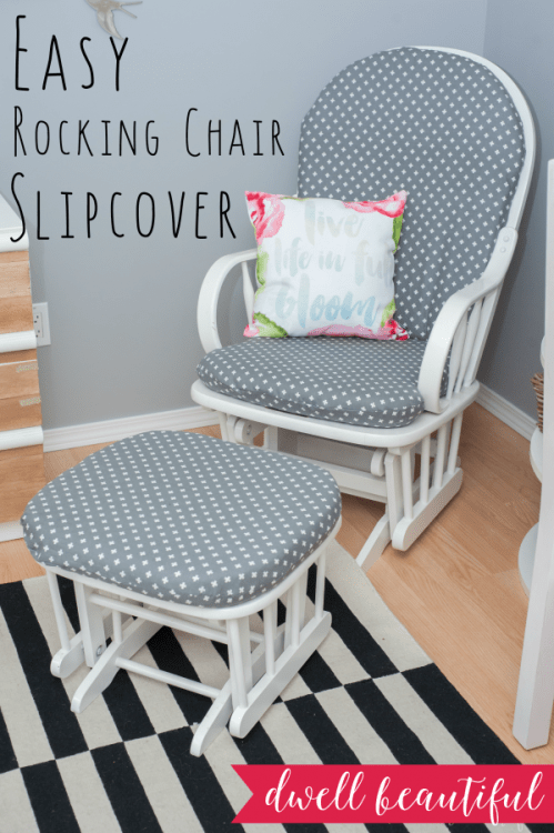 how to make no sew slipcovers for lounge chair
