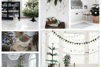 scandinavian christmas inspiration