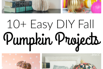 easy diy fall pumpkin projects