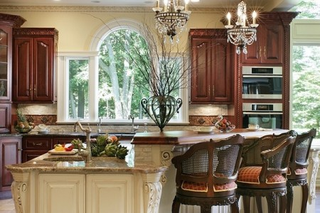 ceiling design ideas recessed lighting small crystal chandeliers kitchen island