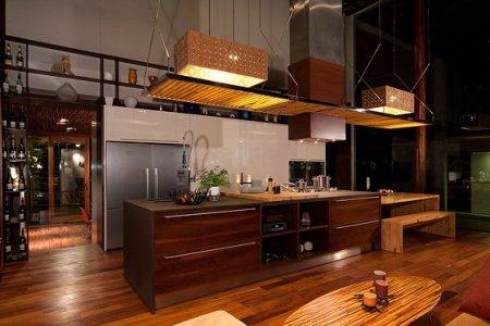 modern tropical kitchen