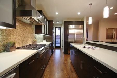 tropical modern kitchen