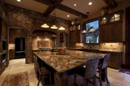 small rustic kitchen designs