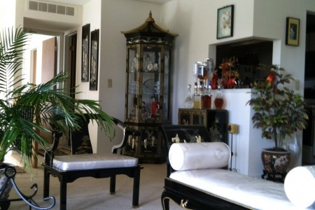 lovable asian inspired living room