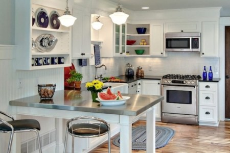 creative small kitchen design ideas 25