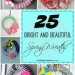 25 Bright and Beautiful Spring Wreaths