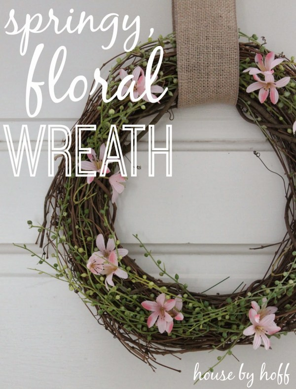 spring,floral wreath