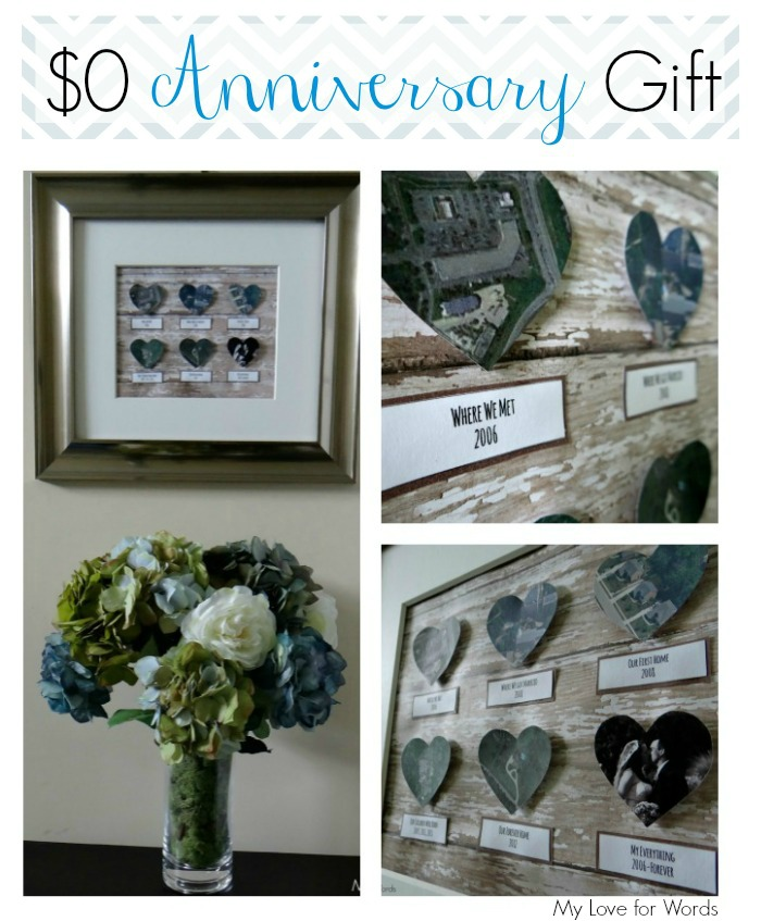Diy Wedding Anniversary Gift Ideas For Husband : Anniversary-Gift-collage1