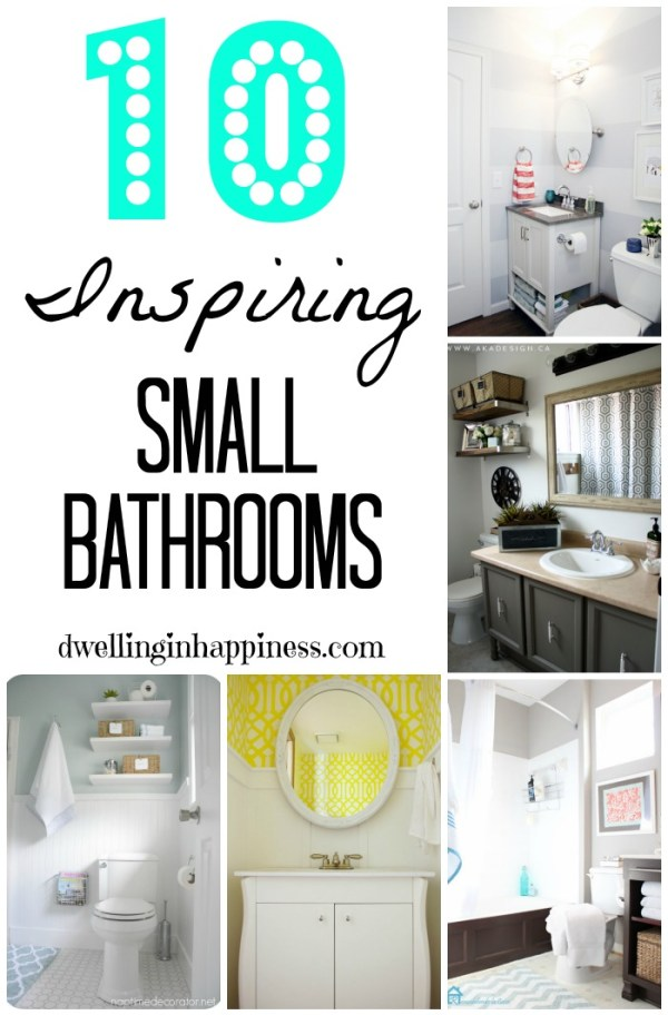 10 Inspiring Small Bathrooms
