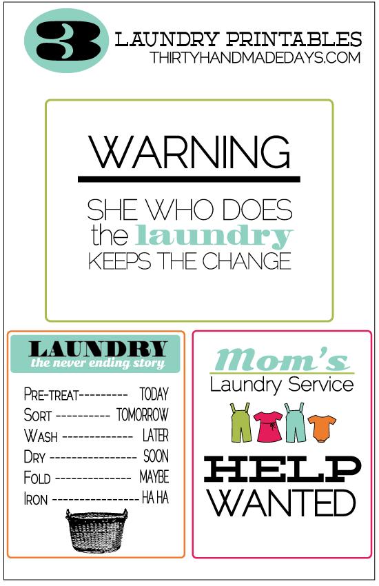 40 Fabulously Free Bathroom Amp Laundry Room Printables