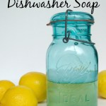 Non-Toxic Liquid Dishwasher Soap