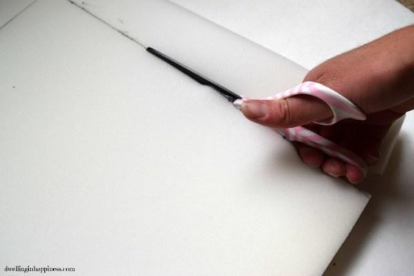 cutting-foam