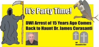 Its party time for Dr James Corasanti