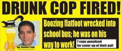 Drunk cop fired Houston Texas