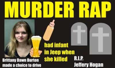 Murder rap DWI had infant in car