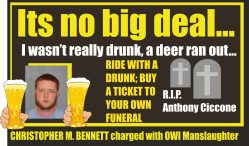 Christopher M Bennett OWI manslaughter