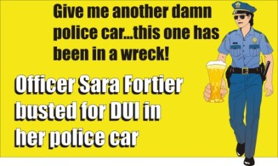 Officer Sara Fortier charged with DUI SC