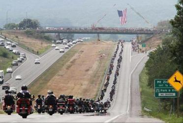 Bikers roll for 9 11