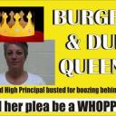 Litchfield High Principal busted at Burger King for DUI