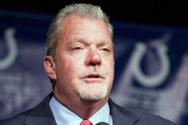 Indianapolis Colts owner Jim Irsay charged with drunk driving and with a pocket full of pills by Carmel Police.