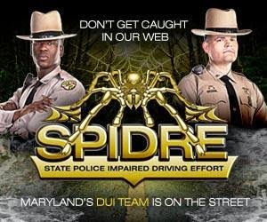Maryland: State Police Salisbury Barrack reports DUI arrests for  Feb. 13, 2016 to Feb. 26, 2016