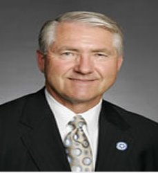 Oklahoma Sen. Harry Coates, charged with DWI in Texas on his last day in office.