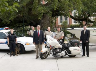 Lafayette Parish Sheriff Neustrom