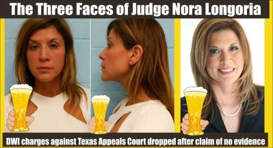 Texas Appeals Court Judge Nora Longoria DWI charges dropped rev