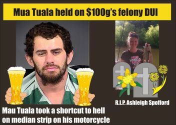 Mau Tau Tuala held on 100 grand felony DUI 101515