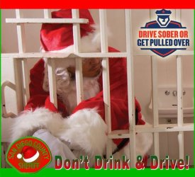 Drive sober or get pulled over Christmas boozers