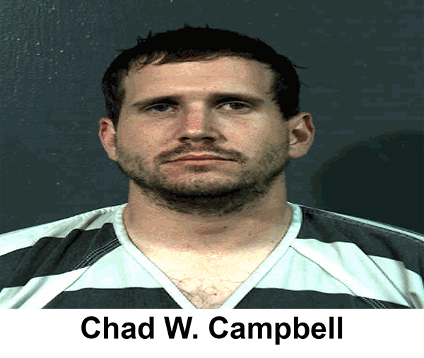 Ohio: Chad Campbell sentenced to 12 years in prison for DUI homicide in deaths of motorcyclists Joseph Lorelli & Traci Chapman in his DUI hell-ride at 96 mph