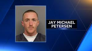 Jay Michael Petersen DUI firearm possession by felon 3 time DUI driver Lancaster Sheriff Neb.