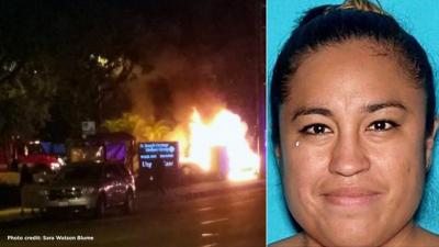 Stephanie Marie De Rosa charged with DUI manslaughter in Orange Calif. photo courtesy of KABC 051316