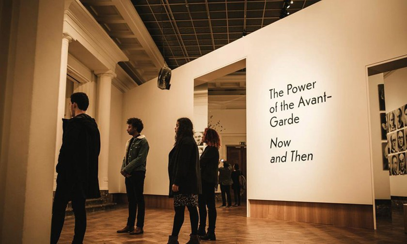The Power of the Avant-Garde. Now and then © Bozar. Centre for Fine Arts. brussels.