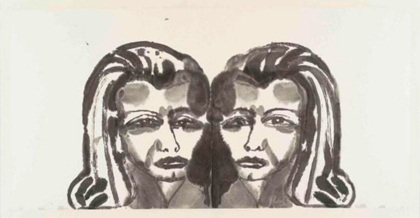 Alba, 2017. Tinta sobre papel. 50 x 99 cm. Imagen cortesía: Galería Javier Lopez y Fer Frances