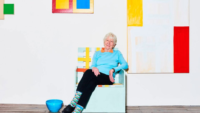 Mary Heilmann. Photograph: Kyle Dorosz