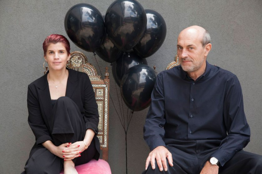 Hala Moubarak & Guillaume Taslé d'Héliand, photo by Anwar Azzi