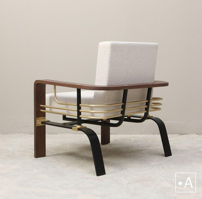 Ahmad Bazazo, Chair Back Post, Studio A