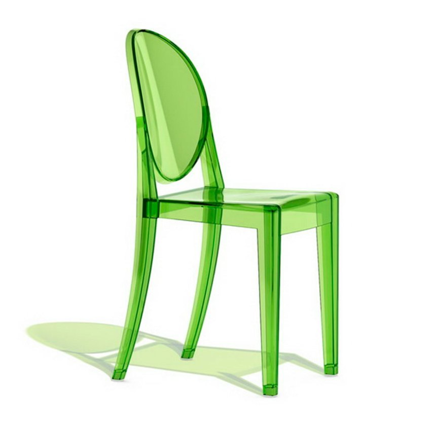 """Ghost chair"" design by Philippe Starck"