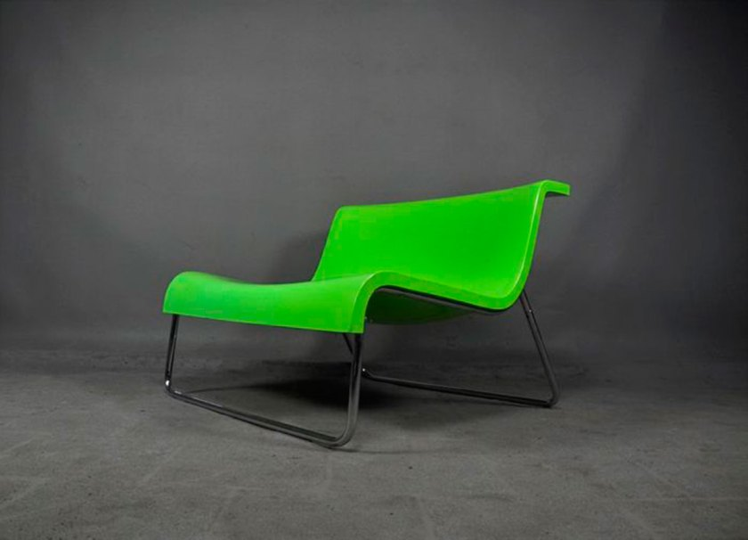 """Form lounge chair"" design by Piero Lissoni for Kartell"