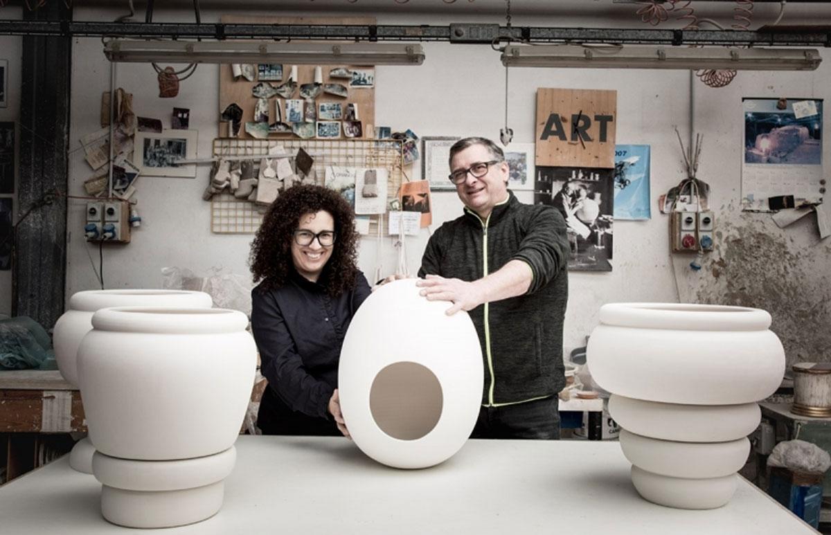 Pepa Reverter (Spain) & Mario Bertolin (Nove) - ceramics.