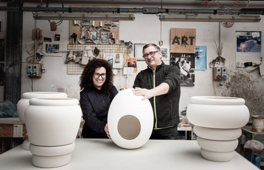 Pepa Reverter (Spain) & Mario Bertolin (Nove) - ceramics.